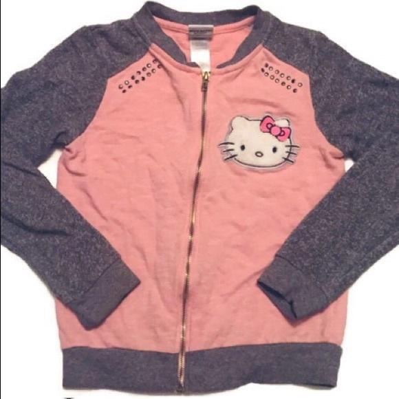 Hello Kitty Other - Hello Kitty Zip Up Sweater